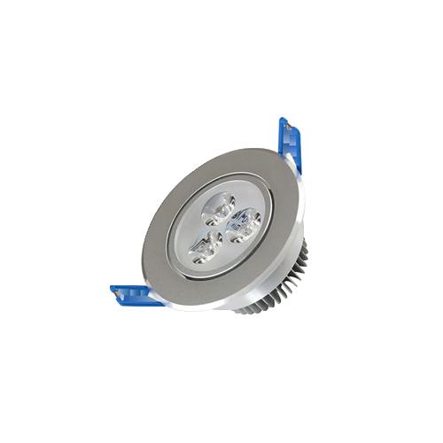 Embutido Aluminio Dirigible 3W Cálido